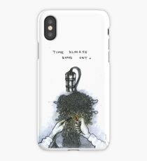 Time Always Runs Out. iPhone Case/Skin