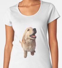 Puppy Retriever Women's Premium T-Shirt