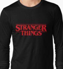 Stranger Things Logo  Long Sleeve T-Shirt