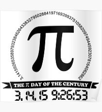 2015 Ultimate Pi day of the century Poster
