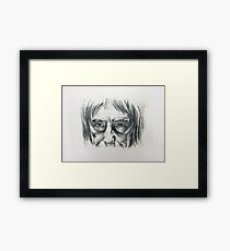 Its all in the eyes! Framed Print