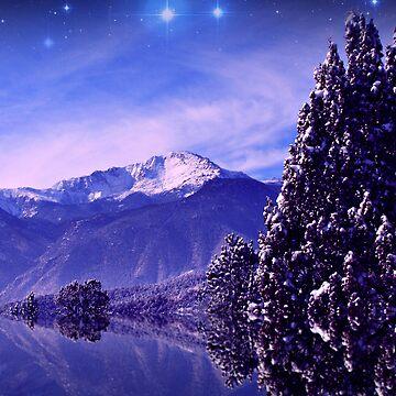Winter Evening by Beverlytazangel