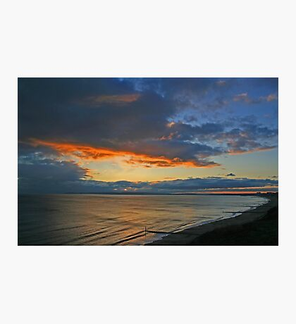 Southbourne Sunset Photographic Print