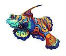 Mandarinfish by Lacey  Ewald