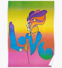 Love - Peter Max Poster