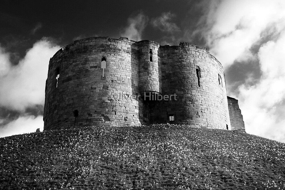 Clifford's Tower by Oliver Hilbert
