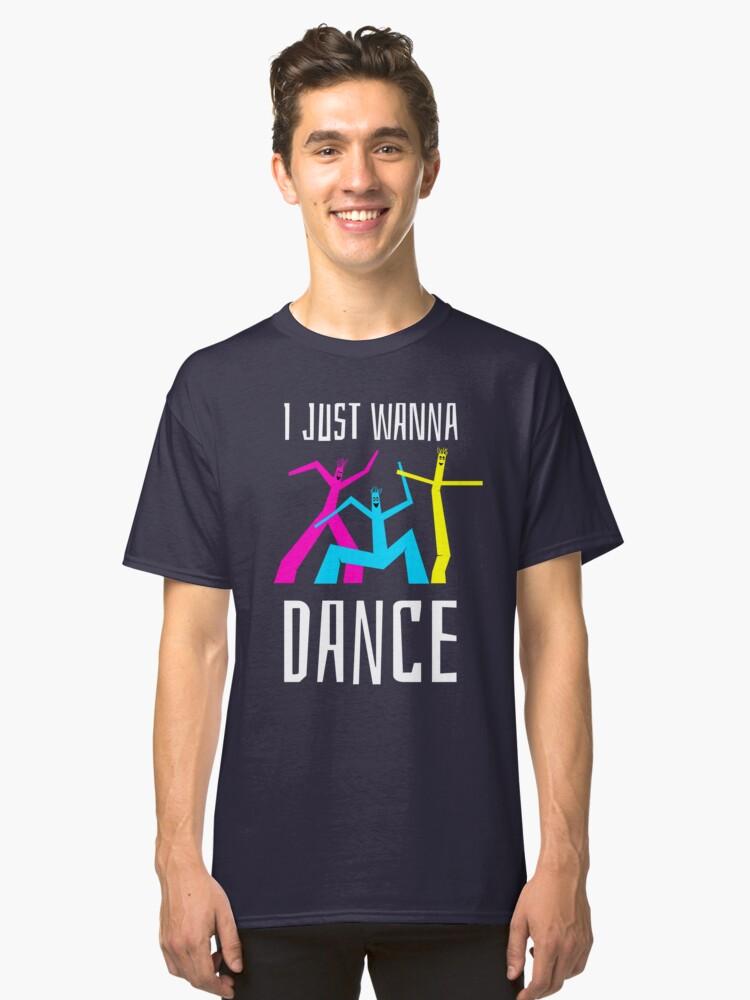 DANCE LOVE T-SHIRT. Ballet Hip Hop DANCER Tshirt. GREAT GIFT Classic T-Shirt Front
