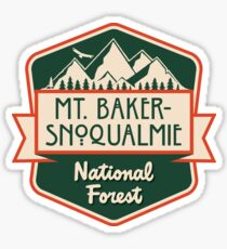 Mt. Baker-Snoqualmie National Forest Sticker