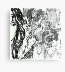 Juanito's Memory Metal Print