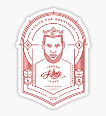 LEBRON: The Hammer of Akron Sticker