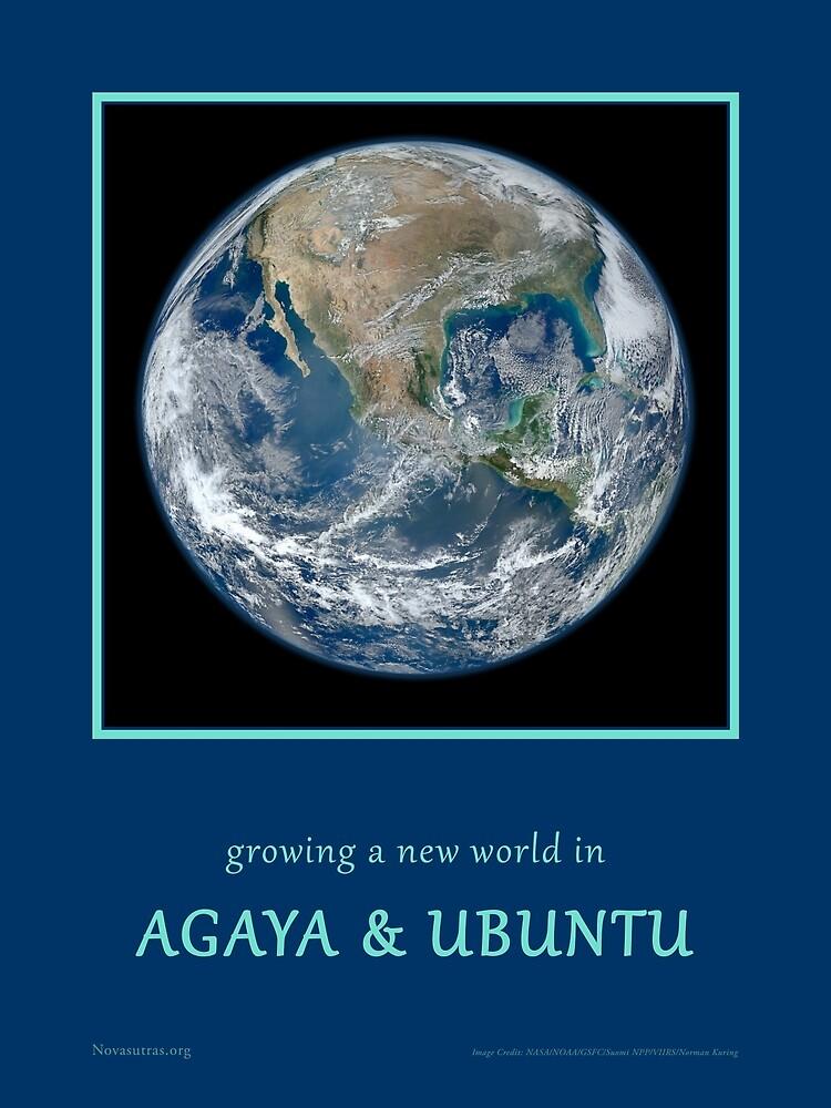 Agaya & Ubuntu Blue Marble by Novasutras