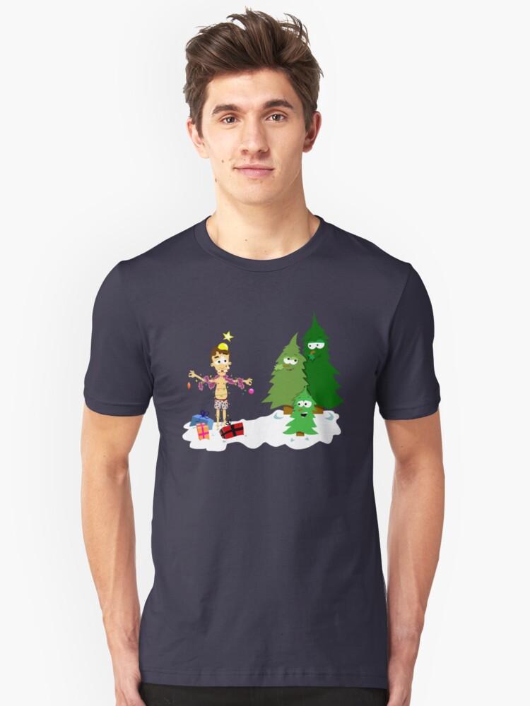 Christmas Revenge Unisex T-Shirt Front
