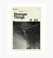 Polaroid Stranger Poster Art Print