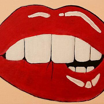 Lustful Lips by IvysCraftShop