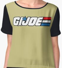 G.I. Joe Classic logo Chiffon Top