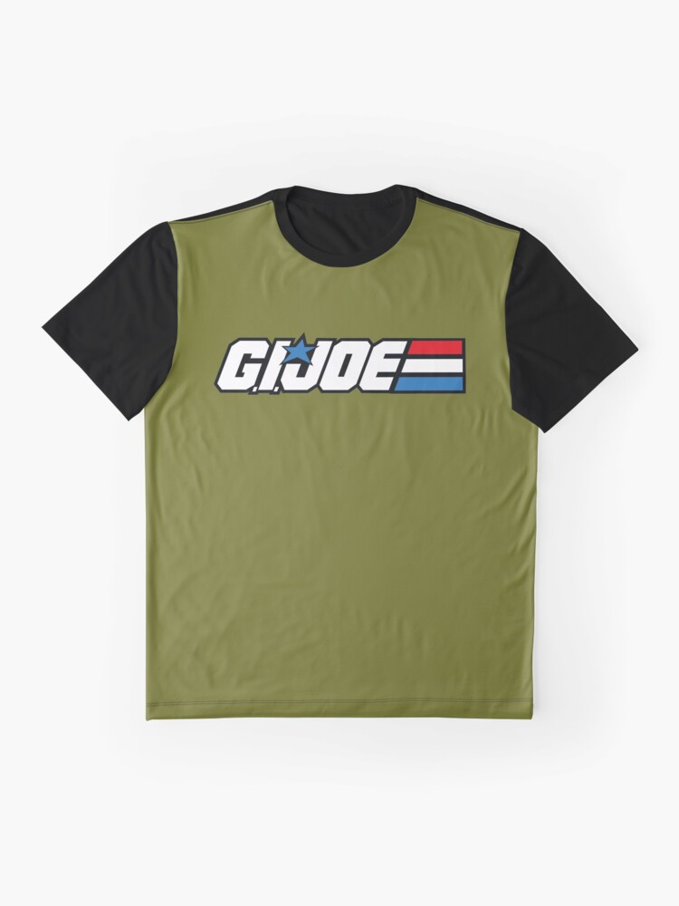 Vista alternativa de Camiseta gráfica GI Joe Classic logo