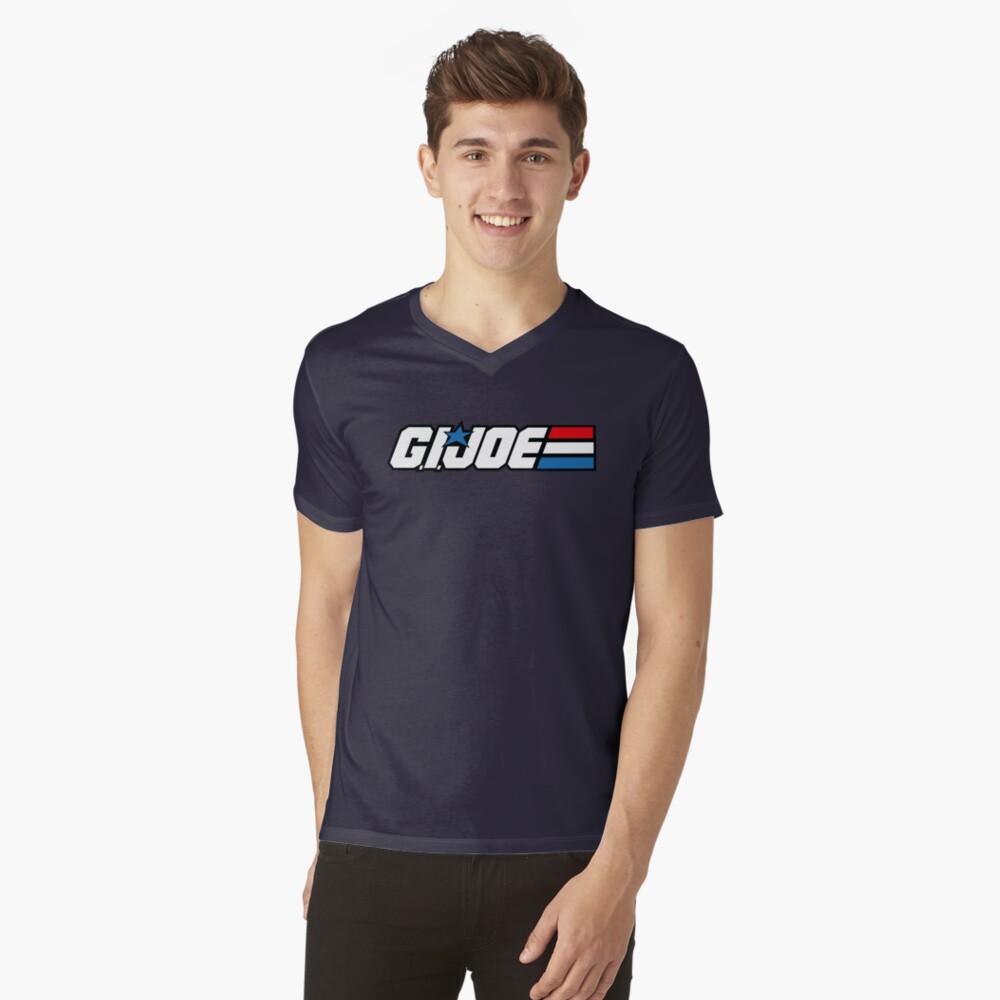GI Joe Classic logo Camiseta de cuello en V