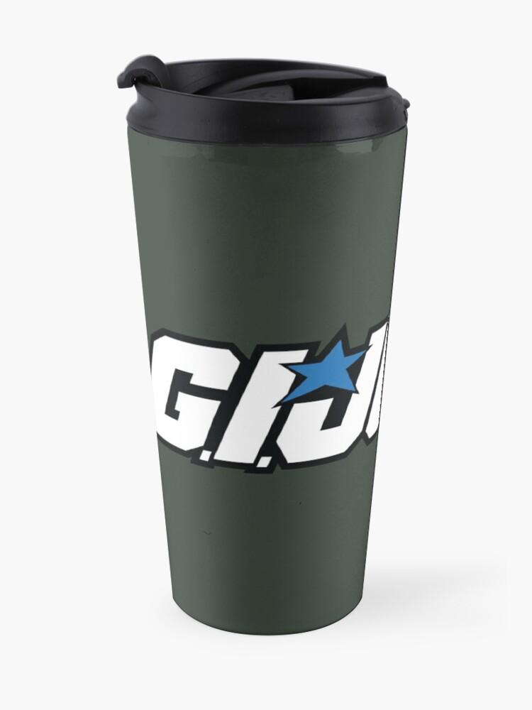 Vista alternativa de Taza de viaje GI Joe Classic logo