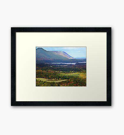 Sunrise Valley, Cape Breton Island Framed Print