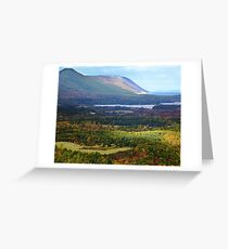 Sunrise Valley, Cape Breton Island Greeting Card