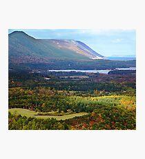 Sunrise Valley, Cape Breton Island Photographic Print