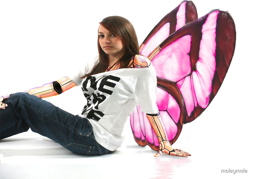 angel girl by moleymole