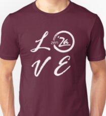 Love 'Za - Italic Unisex T-Shirt