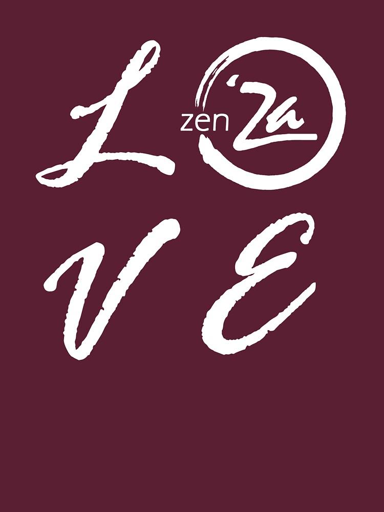 Love 'Za - Italic by zenZaPizzeria