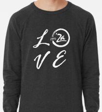 Love 'Za - Italic Lightweight Sweatshirt