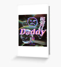Vaporwave Daddy Greeting Card