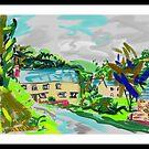 A homely farmhouse in North Devon near Braunton by Helen Imogen Field