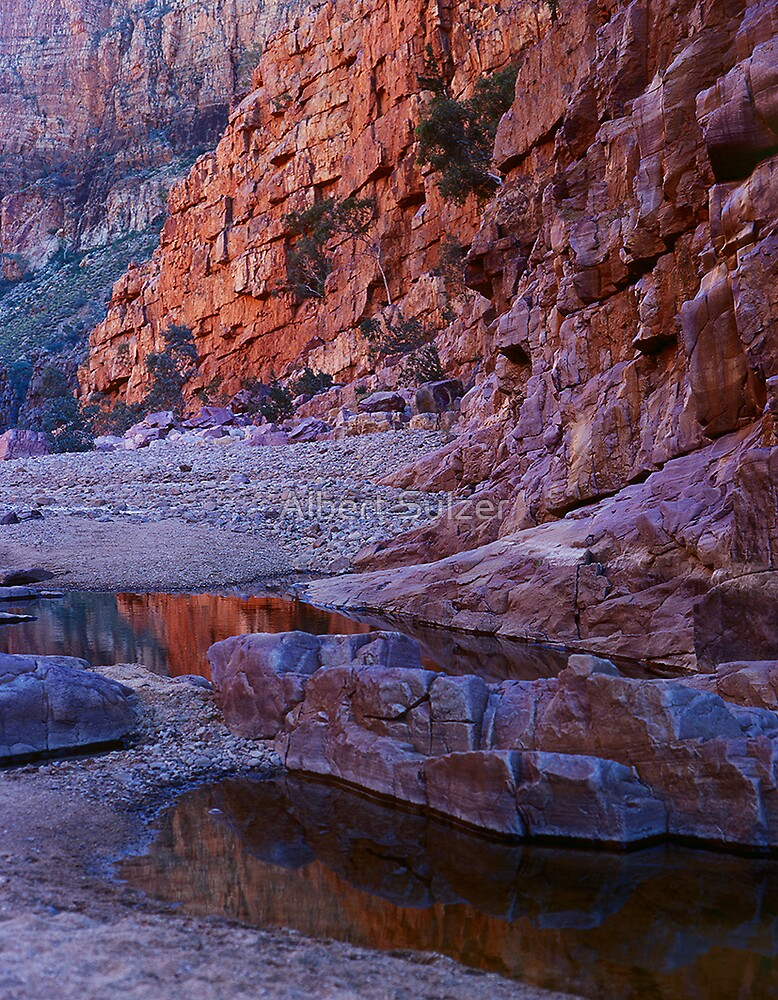 Ormiston Gorge NT Australia by Albert Sulzer