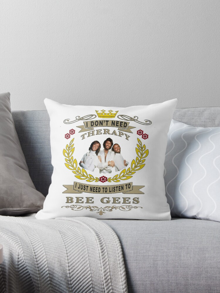Bee Gees Is My Love And Life Throw Pillows By Faresalex1 Redbubble