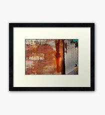 PAW Framed Print