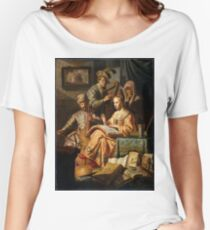 """Rembrandt Harmenszoon van Rijn, The Music Party"""", 1626 Women's Relaxed Fit T-Shirt"""
