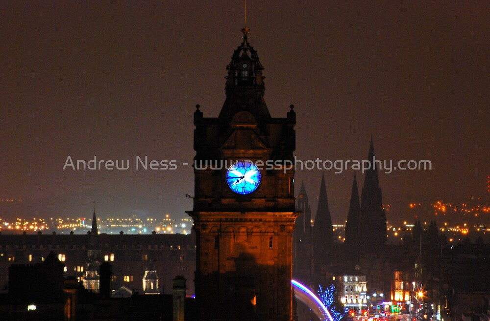 Balmoral Saltire by Andrew Ness - www.nessphotography.com