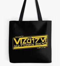 The Empire Strikes Back in Aurebesh Tote Bag