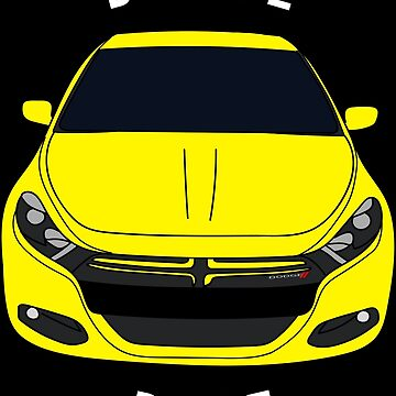 Dodge Dart Citrus Peel Front End by Jessimk