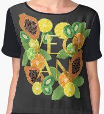 Vegan Fruit Chiffon Top