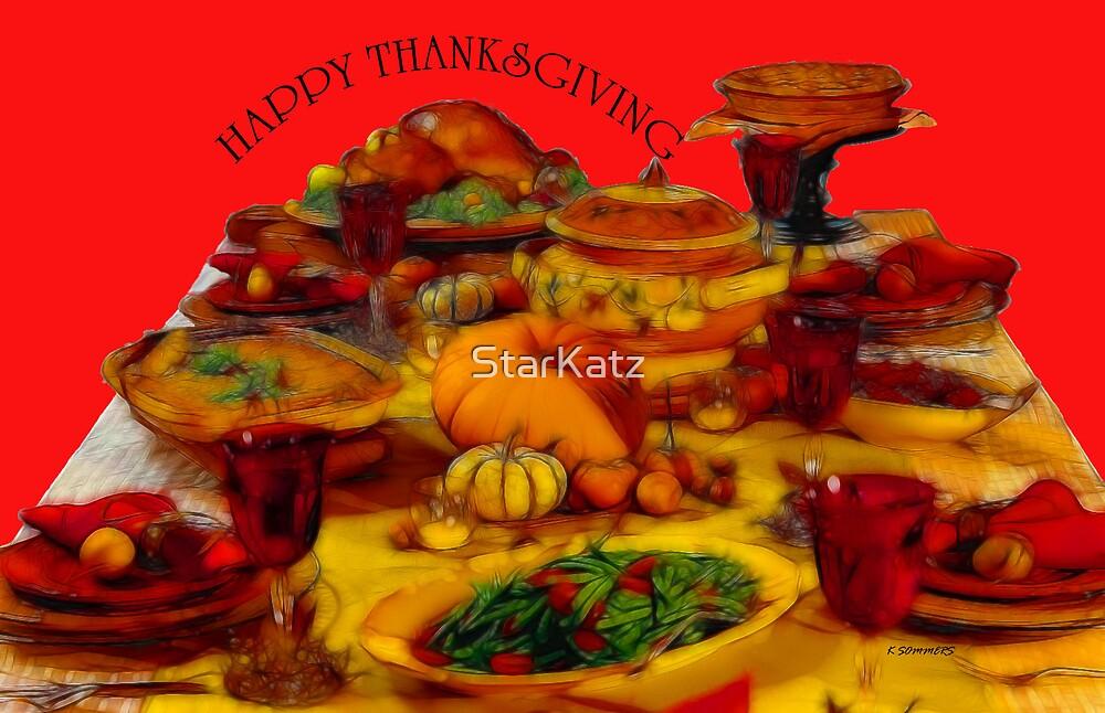 Happy Thanksgiving by StarKatz