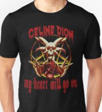 My Heart Will Go On Metal Gifts T-Shirt