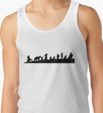The Lord of the Rings Fellowship Men's Tank Top
