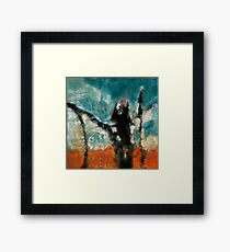Jumping Happy Framed Print