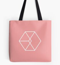 EXO Exodus logo pink version Tote Bag