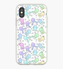 Pastel Squids iPhone Case