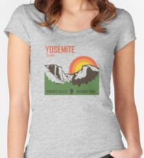 Yosemite National Park Women's Fitted Scoop T-Shirt