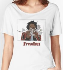 FREUDIAN Women's Relaxed Fit T-Shirt