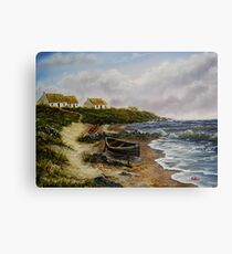 A Fisherman's Life  Canvas Print