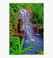 Water Fall Photographic Print