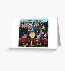 Sir Doyle's Burned Heart's Club Band Greeting Card